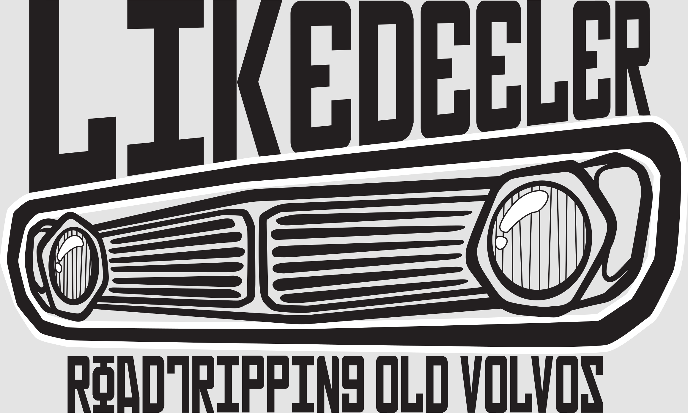 Likedeelerblog – roadtripping old volvos